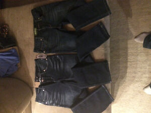 Size 8 and size 10 girls skinny jeans