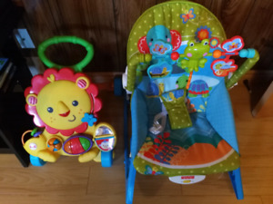 Baby Walker and rocker/chair