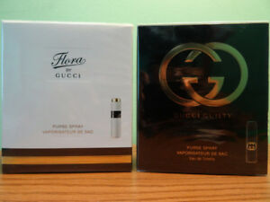 Gucci Flora OR Guilty Purse spray Set. Perfume / Fragrance.