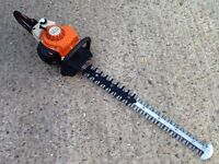 """STIHL HS81R HEDGE TRIMMER CUTTER WITH 30"""" BLADES"""