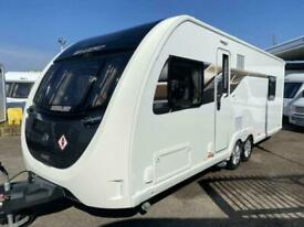 2019 SWIFT ECCLES 650 4 berth Fixed island bed motor mover