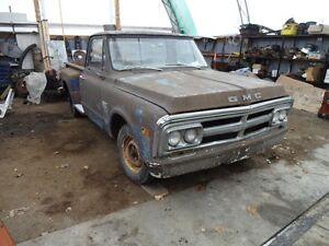 1969 GMC STEPSIDE  8ft  BOX