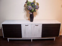 Stylish 7 foot LARGE Shabby Chic Dresser Chest I DELIVER