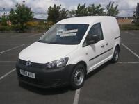 2012 62 VW VOLKSWAGEN CADDY 1.6TDI 102PS C20 PANEL VAN IN WHITE LOW MILEAGE L@@K