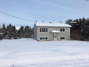 Built in 1984-one of the nicest spots in Desbarats! Just move in
