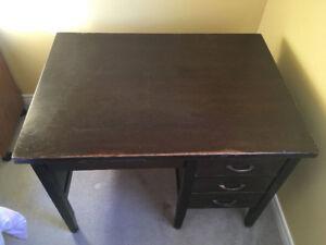 Hardwood School/Teacher Desk