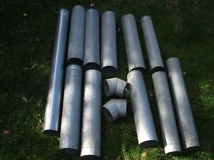 """5"""" and 6""""  Galvanized Pipe"""