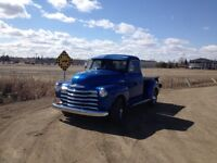 1950 CHEVY STEPSIDE SHORTBOX GREAT YEAR GREAT TRUCK