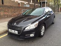 Peugeot 508 sr HDI (DIESEL) 61REG service history and all previous moTs