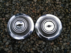 Chevy dog dish hubcaps