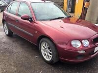 2003 03 Rover 25 IL 1.4 16v MOT WARRANTY RED **LOW MILES**
