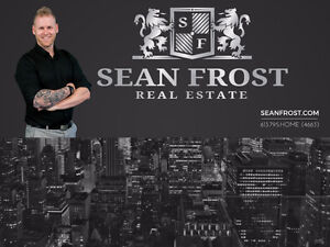 Sean Frost Real Estate Ottawa. Dedicated and Determined For You!