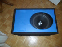subwoofer with box enhancer
