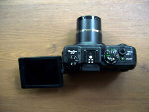 Canon G12 with Tilt Display – As Is