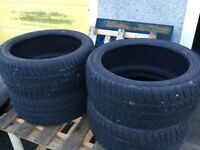 Winter tyres 245 40 19 to suit Audi Q3 etc