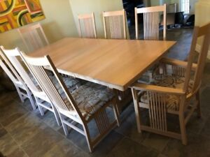 Bermex solid wood Canadian made Dining Room Suite