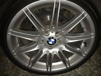 Genuine bmw mv4 19 inch alloy wheels with front tyres