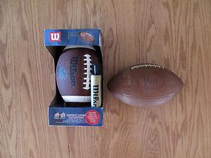 Wilson & Voit football