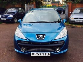 PEUGEOT 207 IDEAL FAMILY CAR FREE DELIVERY 1395