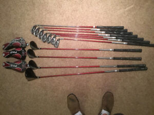 Set of Ping golf clubs for sale