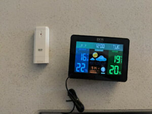 Bios 386BC Indoor/Outdoor Thermometer