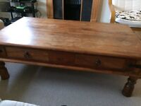 Maharani 4 drawer coffee table from John Lewis