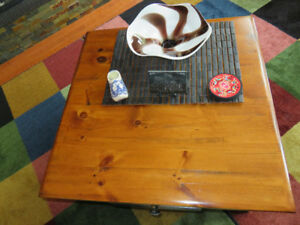 Sold Wood Coffee/End Table Set