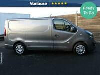2018 Vauxhall Vivaro 2700 1.6CDTI BiTurbo 125PS L1 H1 Sportive Van PANEL VAN Die