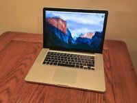 "MacBook Pro 15"" mid 2012 Quad i7 8GB SSD Adobe cs6 Logic Pro X Final Cut Pro"