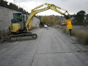 Korean Hydraulic Rock Breaker to suit up to 6.5-ton Excavators St Marys Penrith Area Preview