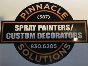 Spray Painters Wanted