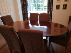 Harrods solid wood dining table