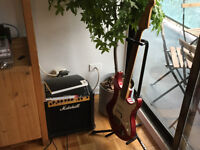 YAMAHA - ELECTRIC GUITAR - RED - UNUSED