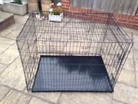 Dog cage/ crate large