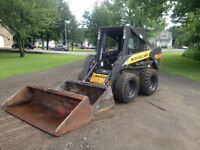 new holland L 170 (skid steer)