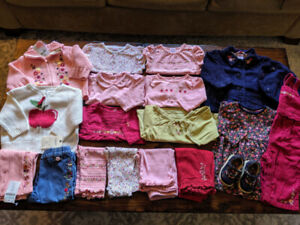 HUGE Gymboree Baby Girl Lot of 19 pieces in 3-6 months
