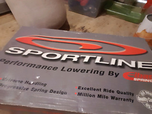 Sportline Kit pour civic 4 cyl.