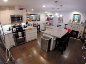 1, 10032-113 St. - Furnished Condo in Oliver! 2 Bed 2.5 Bath!