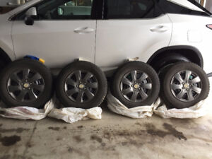 Brand new tires with rim for sale