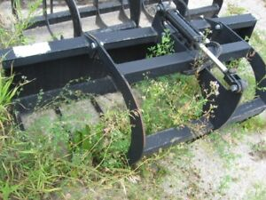 SKID STEER GRAPLE BUCKET