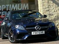 2017 Mercedes-Benz E63 AMG S 4MATIC+ PREMIUM Auto Saloon Petrol Automatic