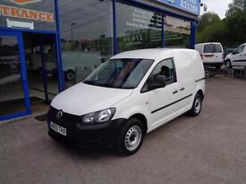 2013 VOLKSWAGEN CADDY C20 PLUS TDI STARTLINE - 1 OWNER CAR DERIVED VAN DIESEL