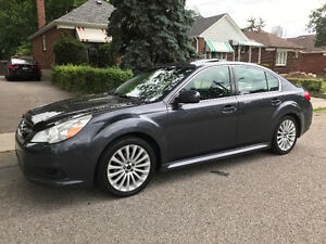 2010 Subaru Legacy AWD Permium Sport GT options Sedan