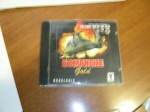 comanche gold, jeux PC
