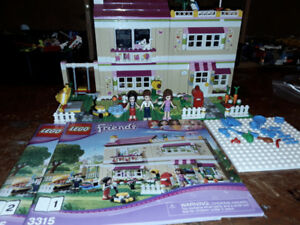 Friends lego Olivia's house 3315