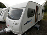 Lunar Zenith EB 2009 4 Berth Lightweight Fixed Bed Touring Caravan