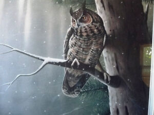 """Hand Signed Wildlife Lithograph by L. E. Robinson """"The Watcher"""" Stratford Kitchener Area image 7"""