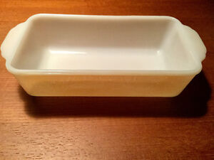 PLAT A CUISSON FIRE KING BACKING DISH VINTAGE RÉTRO DEPRESSON