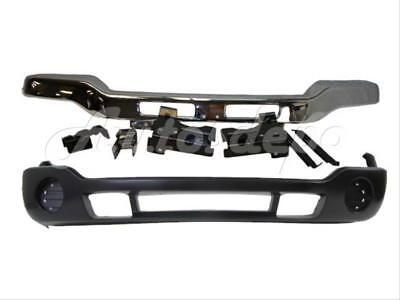 (For 2003-07 GMC SIERRA FRONT BUMPER IMPACT BAR CHR LOWER  BRACKET W/O EXT HOLE)