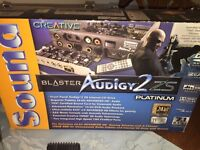 Creative 7:1 sound system and Sound Blaster Audigy 2 ZS